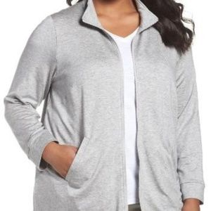 Eileen Fisher Stretch Tencel Terry  Jacket